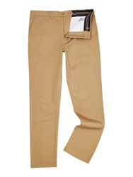 Lyle And Scott Cotton Stretch Chino Sand