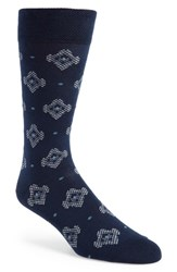 Ted Baker London Veryhip Medallion Socks Navy