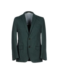 Boss Black Blazers Dark Green