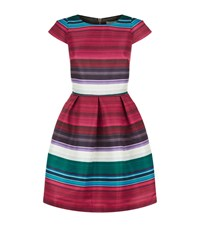 Ted Baker Rozah Striped Dress Female Red