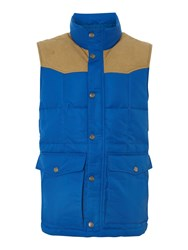 Levi's Down Filled Sleeveless Jacket Blue