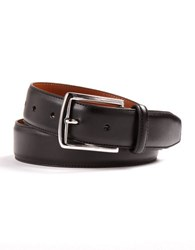 Lauren Ralph Lauren Leather Dress Belt Black