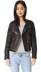Blank Vegan Moto Jacket Sleep Swiping