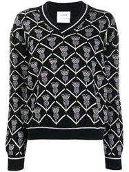 Barrie Thistle Pattern Jumper 60