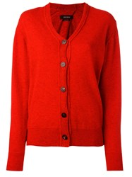 Isabel Marant Knitted Cardigan Red