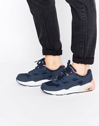 Puma R698 Filtered Wn's Peacoat Pink Navy