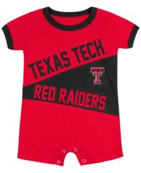 Colosseum Babies' Texas Tech Red Raiders Romper