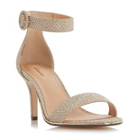 Linea Merlo Ankle Strap Sandals Gold