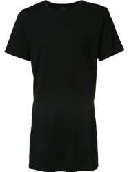 En Noir Slim Fit Crew Neck T Shirt Black