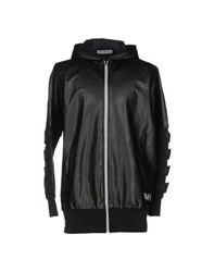 Bikkembergs Coats And Jackets Jackets Men Black