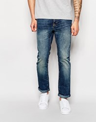 New Look Authentic Mid Marble Slim Blue