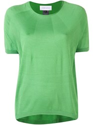 Christian Wijnants Kyoko Knitted Top Green