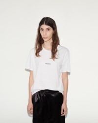 Phoebe English Travesty T Shirt White With Black Print