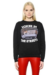 Each X Other Robert Montgomery Cotton Sweatshirt