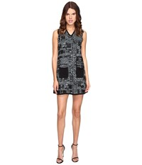 M Missoni Lurex Tweed Dress Ice Women's Dress White