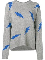 Zadig And Voltaire Cashmere Markus Sweater Grey