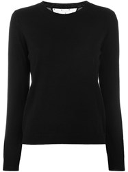 Red Valentino Knitted Sweater Black