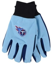 Forever Collectibles Tennessee Titans Palm Gloves Maroon
