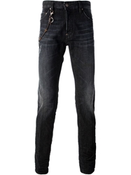 Dsquared2 'Clement' Skinny Jeans Black