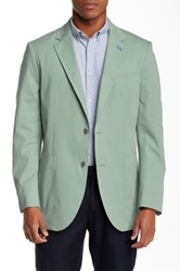 Tailorbyrd Two Button Notch Lapel Sports Jacket Green