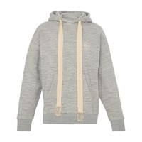 Loewe Anagram Hooded Sweatshirt Grey Melange
