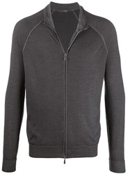 Drumohr Zip Up Merino Cardigan 60