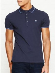 Diesel Skin Short Sleeve Polo Shirt Blue