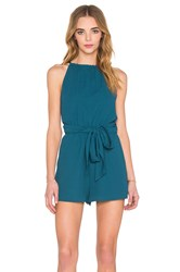 The Fifth Label Applied Imagination Romper Teal