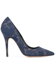 Jean Michel Cazabat 'Elle' Pumps Blue