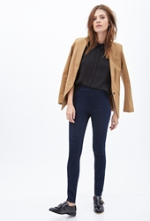 Forever 21 High Rise Seamed Skinny Jeans