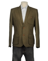 Suit Blazers Military Green