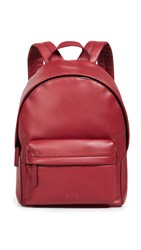 Uri Minkoff Ace Soft Napa Leather Backpack Red Lacquer