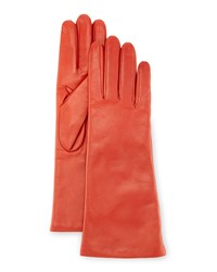 Portolano Napa Leather Gloves Orange
