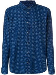 Marc Jacobs Patterned Shirt Blue