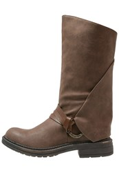 Blowfish Fenni Boots Coffee Dark Brown