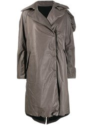 Isaac Sellam Experience Concealed Fastening Leather Trench 60