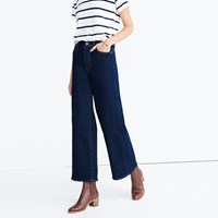 Madewell Wide Leg Jeans Walden Wash