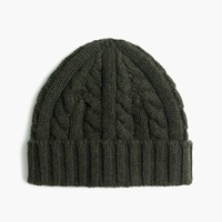 J.Crew Cashmere Cable Knit Beanie