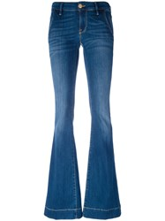 Don't Cry Bootcut Jeans Blue