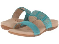 Aetrex Macy Teal Women's Sandals Blue