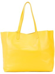 Mansur Gavriel Oversized Tote Bag Yellow And Orange