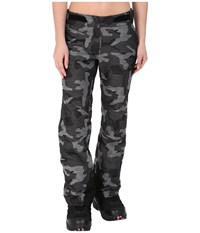 Obermeyer Warrior Pant Snow Camo Women's Casual Pants White