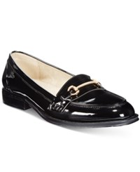 Wanted Cititime Loafers Women's Shoes Black Patent