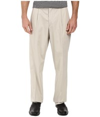 Dockers Signature Stretch Relaxed Pleated Front Cloud Men's Casual Pants White