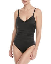 Magicsuit Mikki Ruched One Piece Swimsuit Black