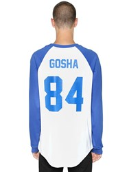 Les Artists Gosha Printed Cotton Jersey T Shirt