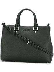 Michael Michael Kors Top Zip Tote Bag Black