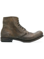 A Diciannoveventitre Dc2 Horse Oil Boots Brown