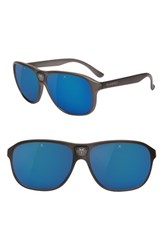 Vuarnet Legends 03 56Mm Polarized Sunglasses Grey Polar Blue Flash