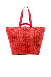 Rachel Comey Lotte Xl Weekender Bag Red